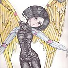Battle Angel Alita by Maria  Gonzalez