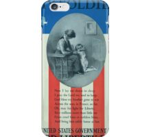 My soldier Buy United States government bondsThird Liberty Loan iPhone Case/Skin