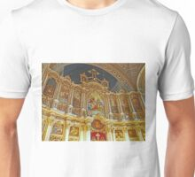 Iconostasis in Orthodox Cathedral of St George. Unisex T-Shirt