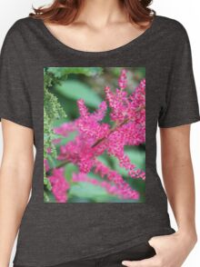 Pink Meadow Sweet Close Up Women's Relaxed Fit T-Shirt