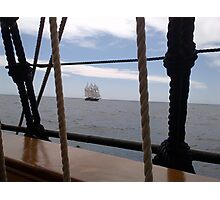 Tall Ship Peacemaker Photographic Print