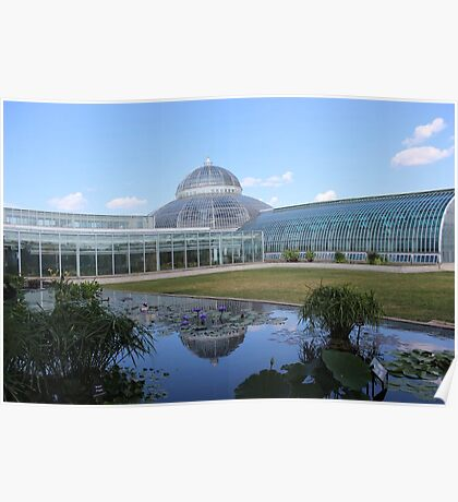 The Beautiful Como Park Conservatory Poster