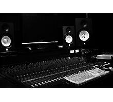 A Recording Lab (SoundBoard) Photographic Print