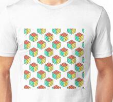 cube pattern Unisex T-Shirt
