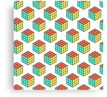 cube pattern Canvas Print