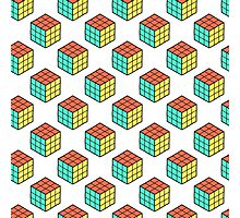 cube pattern Photographic Print
