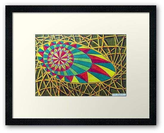 360 - RAINBOW DESIGN - DAVE EDWARDS - COLOURED PENCILS - 2012 by BLYTHART