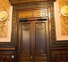grang doors by Anne Scantlebury