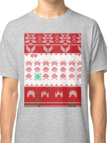 Merry Space Invaders! Classic T-Shirt