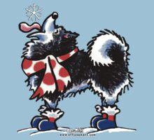 Alaskan Malamute Catch a Snowflake T-Shirt