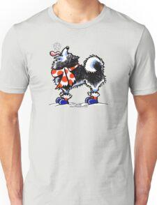 Alaskan Malamute Catch a Snowflake Unisex T-Shirt