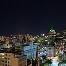Cape Town nightscape by Anna Phillips