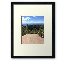On the Top of the World  Framed Print