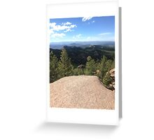 On the Top of the World  Greeting Card