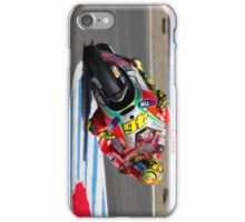 Valentino Rossi at laguna seca 2012 iPhone Case/Skin