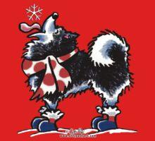 Alaskan Malamute Catch a Snowflake {Kids} Kids Clothes