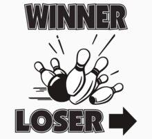 Funny Winner Bowling T-Shirt by SportsT-Shirts