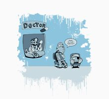 Call the Doctor Blue Unisex T-Shirt