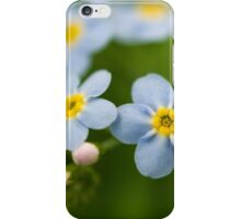 don't forget me iPhone Case/Skin