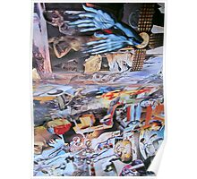 Dali Collage in the Guise of Resurrection. Poster