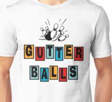 Funny Gutter Balls Bowling T-Shirt Unisex T-Shirt