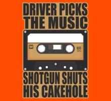 SUPERNATURAL - Driver Picks the Music.. Kids Tee