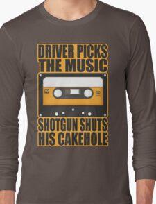 SUPERNATURAL - Driver Picks the Music.. Long Sleeve T-Shirt
