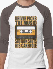 SUPERNATURAL - Driver Picks the Music.. Men's Baseball ¾ T-Shirt