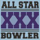 XXX Bowler Bowling T-Shirt by SportsT-Shirts