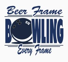 Beer Frame Bowling T-Shirt by SportsT-Shirts