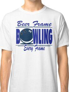 Beer Frame Bowling T-Shirt Classic T-Shirt