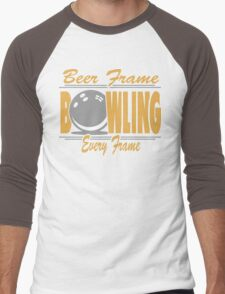 Beer Frame Every Frame Bowling T-Shirt Men's Baseball ¾ T-Shirt