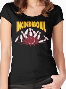 Funny Bowler Bowling T-Shirt Women's Fitted Scoop T-Shirt