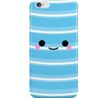 I'm a cute Iphone and I smile [Light Blue] iPhone Case/Skin