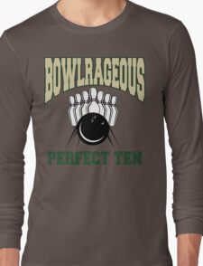 Funny Perfect Ten Bowler Bowling T-Shirt Long Sleeve T-Shirt