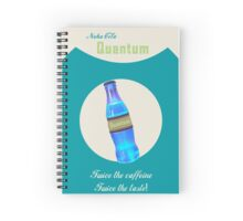 Nuka Cola Quantum Fallout Inspired Spiral Notebook