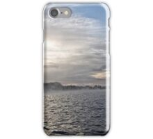 Foggy Sunrise at Lake Burley Griffin in Canberra/ACT/Australia (11) iPhone Case/Skin