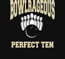 Funny Perfect Ten Women's Bowling T-Shirt Womens Fitted T-Shirt