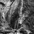 Bridalveil Falls, Yosemite National Park, California by Pete Paul