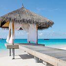 Romantic Hut with Light Ocean Breeze. Maldives  by JennyRainbow