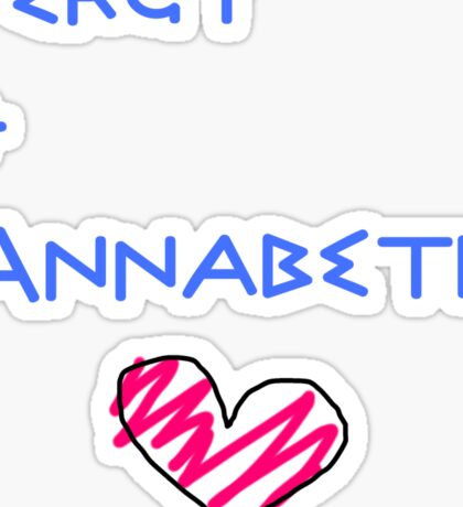 Percy+Annabeth Shirt Sticker