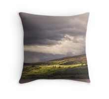 Passing Light Throw Pillow