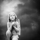 Angel Prayer by Moonlight by olga zamora