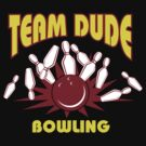 The Dude Bowling T-Shirt by SportsT-Shirts
