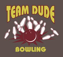 The Dude Bowling T-Shirt Baby Tee