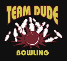 The Dude Bowling T-Shirt One Piece - Short Sleeve
