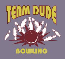 The Dude Bowling T-Shirt Kids Tee