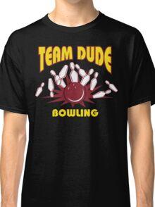 The Dude Bowling T-Shirt Classic T-Shirt