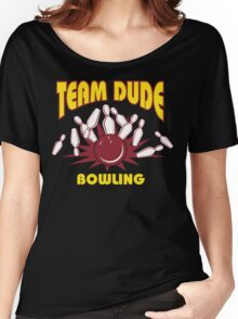 The Dude Bowling T-Shirt Women's Relaxed Fit T-Shirt