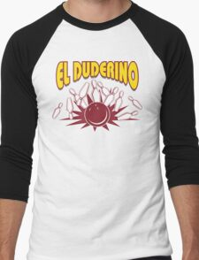 El Duderino Bowling T-Shirt Men's Baseball ¾ T-Shirt
